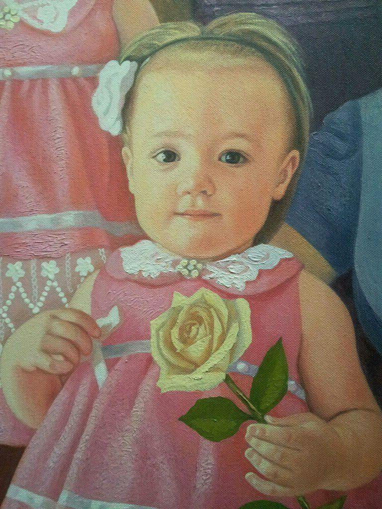 Портрет по фото маслом Улан-Удэ