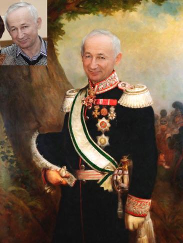 Где заказать исторический портрет по фото на холсте в Улан-Удэ?