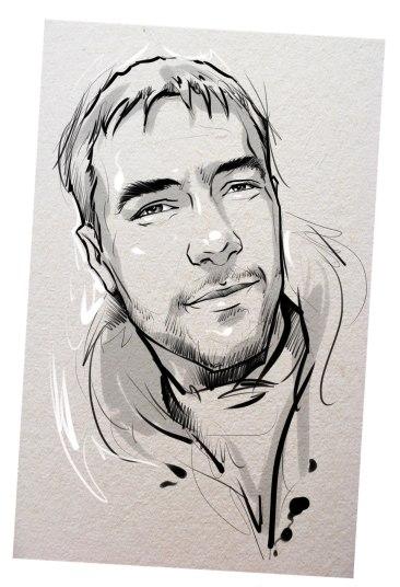 Портрет карандашом любимому мужу в Улан-Удэ…