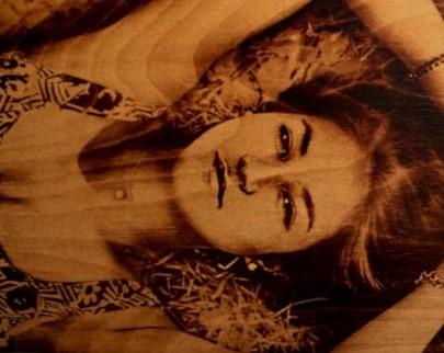 портрет на дереве на заказ в Улан-Удэ