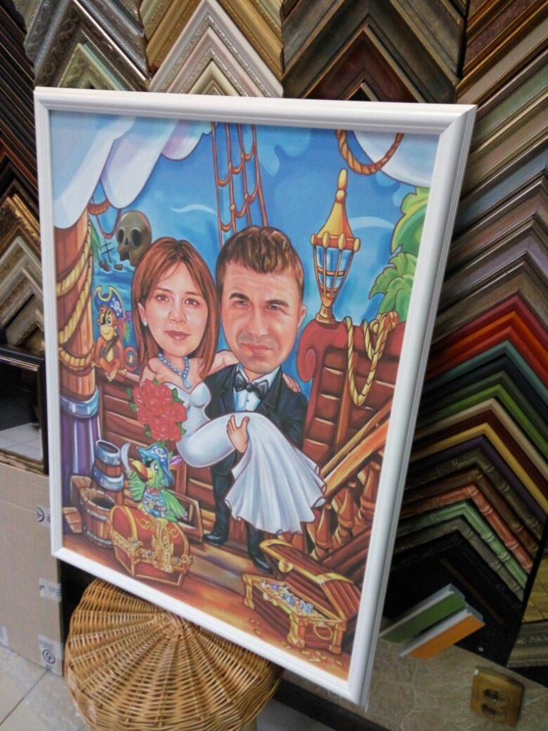 шарж по фото на заказ в Улан-Удэ