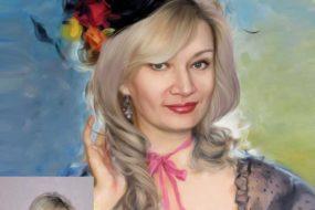 Заказать арт портрет по фото на холсте в Улан-Удэ