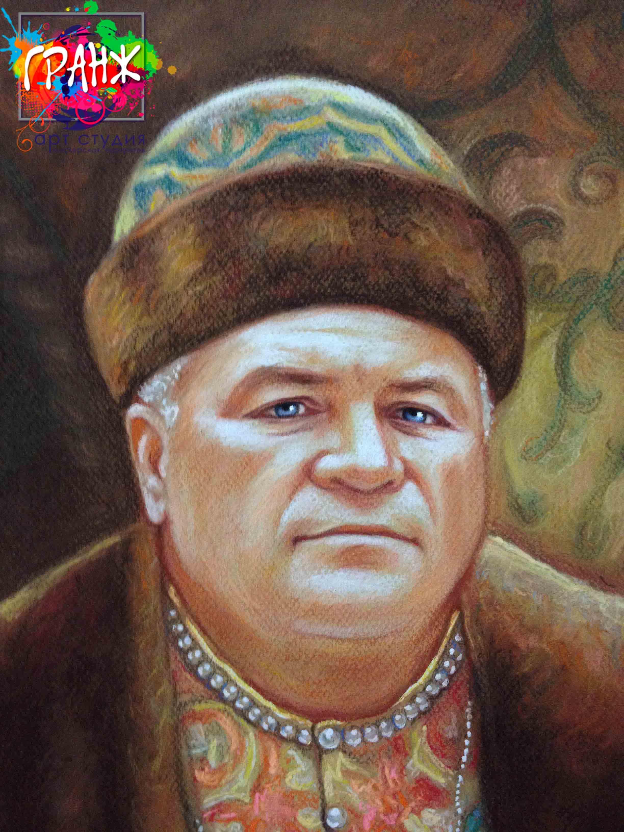 Заказать портрет маслом по фотографии в Улан-Удэ