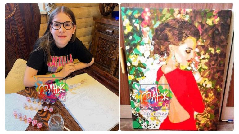 Картина по номерам на заказ по фотографии Улан-Удэ